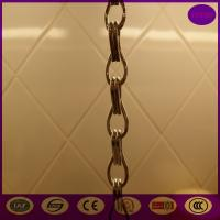 Quality Strong Aluminium Insect Door Chain Screen Curtain 90*210cm from China for sale