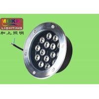 Wholesale IP65, IP67 Epistar Environmental Epistrar Round Led Underground Lights With Tempered Glass from china suppliers