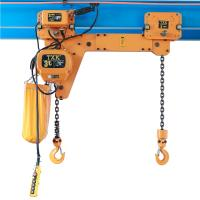 Wholesale CE Certificate Double Hook Electric Chain Hoist 1Ton 5Ton Multi Weight ECH0.25+0.25 T Model from china suppliers