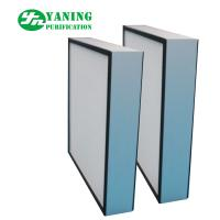 Wholesale Mini Pleat HEPA Air Filter Aluminum Alloy Frame For Fan Filter Unit Replacement from china suppliers