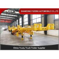 China FUDENG Bomb Cart Port Terminal Container Trailer , 45ft terminal chassis trailer on sale