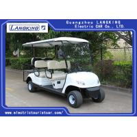 Wholesale White Color 48V 3KW DC Motor Electric Golf Carts With 6 Seats Easy Operated from china suppliers