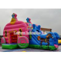 Wholesale Cinderella Inflatable Bounce House / Theme Bouncy Castle Inflatable from china suppliers