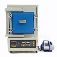 Quality 1400.C High Temperature Atmosphere Vacuum Muffle Furnace For Heating Experiment for sale