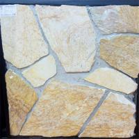 Wholesale Cement / Concrete Backed Natural Stone Wall Cladding Panel Moisture Resistant from china suppliers