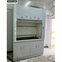 China Laboratory Steel Fume Hood With Exhaust System In Chemistry Laboratory on sale
