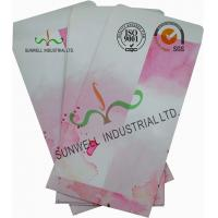 Normal Finising Ordinary Paper Custom Printed Envelopes 4 Colors Peach Flowers