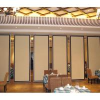 Buy cheap Flexible Office Movable Aluminum Frame Soundproof Partition Walls With Track from wholesalers