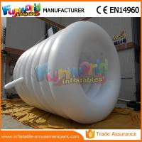 Buy cheap Customized Size 0.16mm PVC White Inflatable Helium Balloons Inflatable Giant Balloon Ball from wholesalers