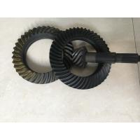 Wholesale Custom Ring And Pinion Gears , Spiral Crown And Pinion Gear Long Using Life from china suppliers