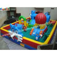Wholesale Custom Inflatable Amusement Park , Giant Inflatable Toys For Kids Play from china suppliers