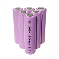 Wholesale OEM ODM 5.55Wh 3.7V 1500mAh 18650 Li Ion Battery from china suppliers