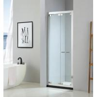 Buy cheap Foldable shower door 900*2000mm with 304 stainless steel & tempered clear glass from wholesalers