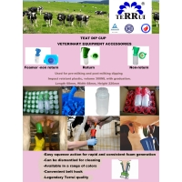Wholesale VTN002 00 BL Non Return 300ml Teat Dip Cup For Cows from china suppliers