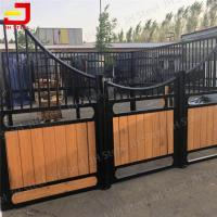 Wholesale Equestrian Economy Large Horse Stable Fronts Bamboo Wood Painted from china suppliers