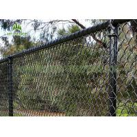 Wholesale 3.6mm Wire Steel Chain Link Fence / Chain Link Security Fence For Home Garden from china suppliers