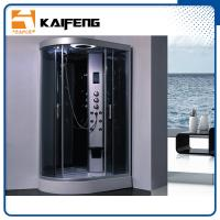 Wholesale Tempered Glass Jet Quadrant Shower Cabin , Large Corner Shower Enclosures from china suppliers