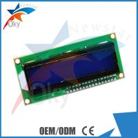 Buy cheap LCD 1602  I2C Serial Interface Adapter Module With Blue Light And Red Board Module from wholesalers