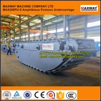 Wholesale MAXWAY Swamp Excavator Pontoon Undercarriage CATERPILLAR, Model: MAX200PU-S from china suppliers