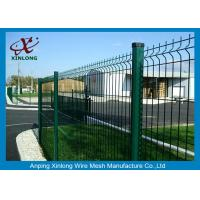 Wholesale PVC Coated Bending Welded Wire Mesh Fence For Garden And Home from china suppliers