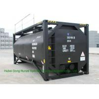 Wholesale UN T3 Heating 20 Foot ISO Tank Container For Bitumen / Crude Oil / Low Hazardous Liquids from china suppliers