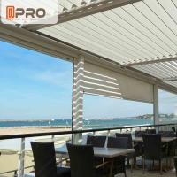 Wholesale Long Life Span Modern Aluminum Pergola With Electric Motor System from china suppliers