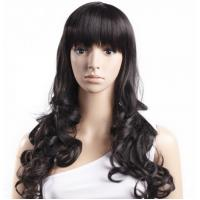Wholesale Black Body Wave High Temperature Fiber Wig For Women Extra Long from china suppliers