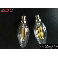 Wholesale C35 Shape E12 Led Filament Bulb Ac 120v 4w 2700k With Clear Glass Cover from china suppliers
