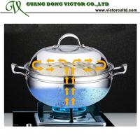 Wholesale Multipurpose stainless steel pot steamer 30cm 32cm 34cm 36cm High Quality Soup Pot Steamer save from china suppliers