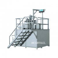 Wholesale 2 Minutes Mixing Speed RapidMixerGranulator 100L With Automatic Lifter Cover from china suppliers