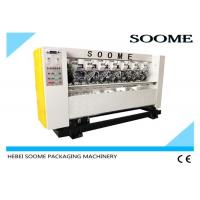 Left Right Moving Corugated Thin Blade Slitter Scorer Machine Effective With High Speed 80m/Min