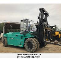 Wholesale Japanese Mitsubishi Second Hand Diesel Forklifts / 30ton Used Forklift Trucks from china suppliers