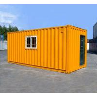 Buy cheap Orange Prefabricated Shipping Container Homes For Flatpack Office Living Room from wholesalers