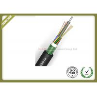 Buy cheap 24~144 Core Fiber Optic Outdoor Cable With Armoured Metallic Strength Member from wholesalers