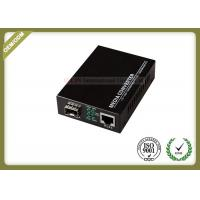 Wholesale Gigabit SFP Fiber Optic Media Converter with SC or SFP Port with 20~80km from china suppliers