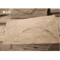 China Decorative Yellow Sandstone Wall Cladding Moisture Proof No Radiation on sale