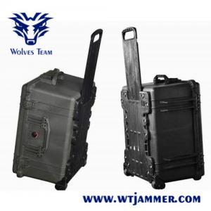 Buy cheap 800 Watt Portable High Power Signal Jammer Wireless 200 - 300m Range from wholesalers
