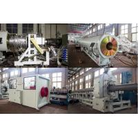 Wholesale High Output PVC Pipe Production Line Double Screw Extruder Low Electric Consumption from china suppliers