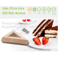 Wholesale Triangle Food SLICE CAKE BOX, Salad, HUMBURGER BOX, BOAT TRAY, LUNCH BOX, HANDLER, CARRIER, BOWL, CUP from china suppliers