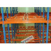 Buy cheap Push back pallet rack - push back racking system - selective and high density from wholesalers