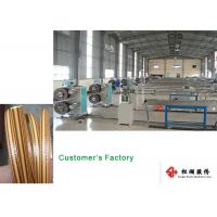 Wholesale Furniture Wicker Plastic Rattan Extrusion Line / Artificial Rattan wicking Production Line from china suppliers