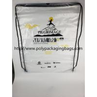 Buy cheap Cheap Price Drawstring Frosted Recycled Plastic Backpack from wholesalers