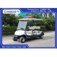 Wholesale Four Person Electric Golf Buggy With Free Maintain Acid Battery / Mini Electric Golf Cart from china suppliers