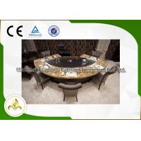 Wholesale Pipeline Natural Gas Fan Shape 9 Seats Teppanyaki Grill Table 8kw from china suppliers