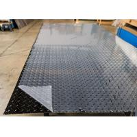 China ASTM B209-10 5052 Aluminum Sheet , Aluminium Chequer Plate Sheet With One Side PVC on sale