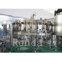 Wholesale Customized Carbonated Drink Filling Machine 220V Soft Drinks Filling Machine from china suppliers