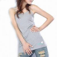 Wholesale Women's Organic Cotton Long Singlet from china suppliers