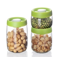 Wholesale Watertight Compressed Air Glass Storage Jars Manually Pressed from china suppliers