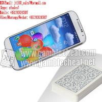 Buy cheap XF white color samsung S4 mobile phone camera for poker scanner from wholesalers