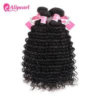 Wholesale 3 Pcs Brazilian Human Hair Bundles Deep Wave , Brazilian Remy Hair Extensions from china suppliers